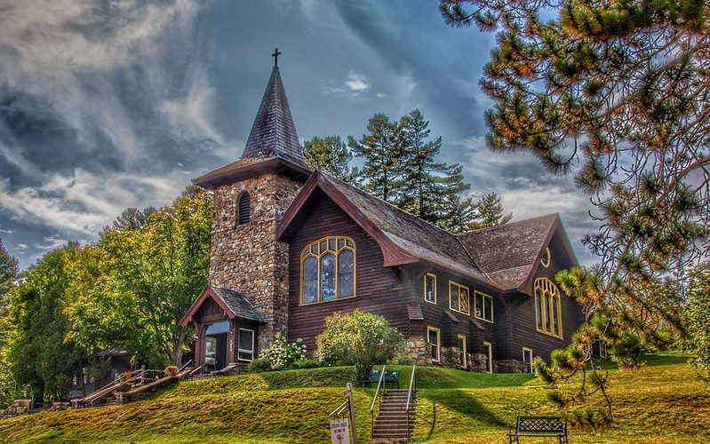 Kirche in Lake Placid